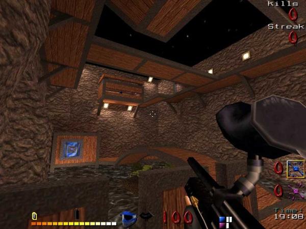 na oprogramowaniu pobranym z Quake2 w grze Paintball 2 grafika stoi na ...