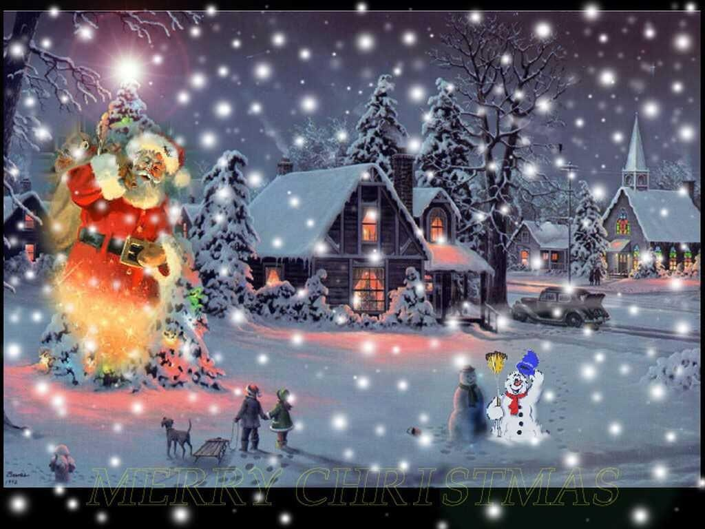Animated Christmas Scenes